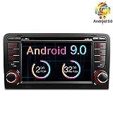 Freeauto pour Audi A3/S3 17,8 cm Android 7.1 Système d'exploitation Quad Core lecteur DVD de voiture avec fonction de duplication d'écran et OBD2