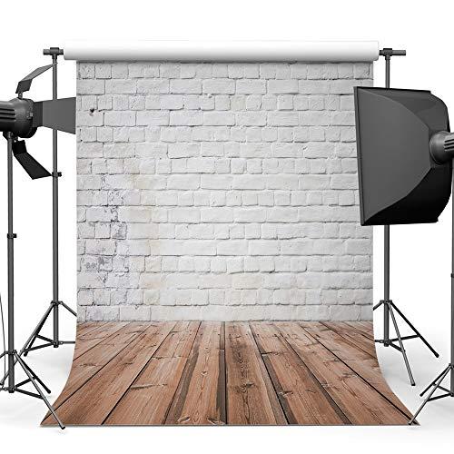 Garden hall Backsteinmauer Fotografie Hintergrund Tuch Baumwolle Studio Foto TV Hintergrund Wand 5x7ft (Color : B) (Studio-hintergrund Tv)