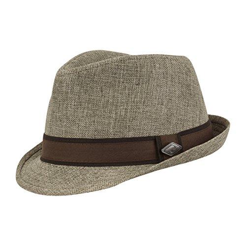 CHILLOUTS CHILLOUTS Male Hut Sacramento Hat braun S/M (56-57)