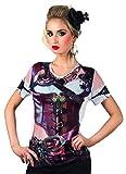 Fotorealistisches Shirt Mrs Steampunk