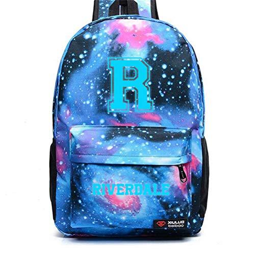 Kostüm Im Sport Störungen - Personalisierte Anpassung Rucksack Teen Rucksack Stilvoller Tagesrucksack - Entwerfen Sie Ihren eigenen Schulrucksack für Mädchen und Jungen(,Sternenhimmel - blau,12.2×17.7 inches)