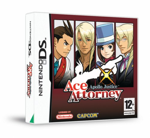 [Import Anglais]Phoenix Wright Ace Attorney 4 Apollo Justice Game DS