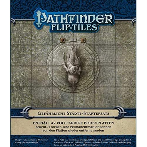Pathfinder Flip-Tiles: Stadt-Startersatz