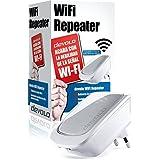 Devolo WiFi Repeater - Repetidor señal WiFi (300 Mbps, 1 puerto LAN, amplificador WiFi, WPS, WiFi Move), blanco