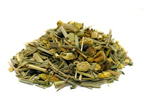 Ayurveda Tee mit Ingwer Zitronengras/Ingwertee Ginger meets Lemongrass fruchtig-frisch-würziger loser ayurvedischer Kräutertee von TeaClub