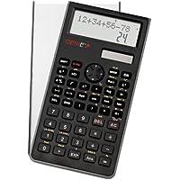 Genie 82 SC- Calcolatrice tascabile con coperchio di protezione, display con 2 righe, 10 cifre, nero - Confronta prezzi
