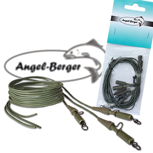 Angel Berger Safety Lead Clip Rig fertige Montage