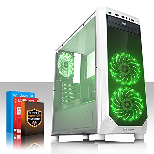 Fierce MEDUSA Gaming PC – Fast 4GHz Quad Core Intel Core i7 4790 – 1TB Hard Drive – 16GB of 1600MHz DDR3 RAM / Memory – NVIDIA GeForce GTX 1050 Ti 4GB – HDMI, USB3, Wi-Fi – 24X DVD/CD Drive – Perfect for competitive gaming – Windows 10 Installed – 3 Year Warranty – (491838) Online
