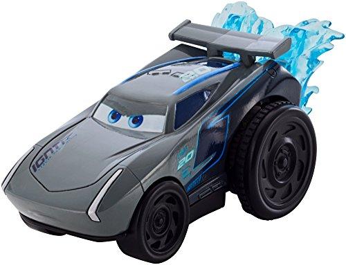 Mattel Disney Cars DVD40 - Disney Cars 3 Splash Racers Jackson Storm (Cars Disney Spielzeug Wasser)