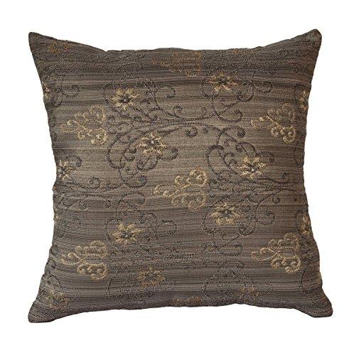 or-gris-floral-embossed-deux-sided-imprimer-coussin-oreiller-pour-canape-lit-16-x-16