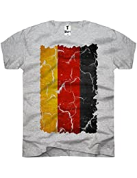 TEE-Shirt, Men T-Shirt Allemagne-Drapeau