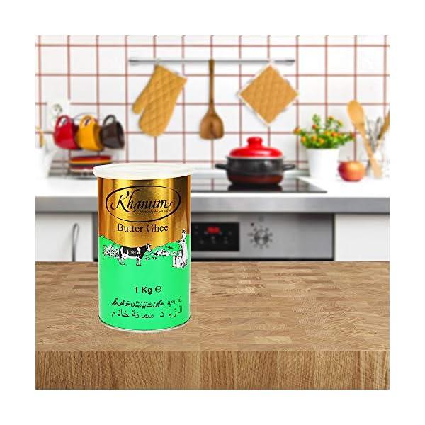 Khanum Butter Ghee | Clarified Butter | Secret Ingredient for Indian Cooking | Ideal for Sautéing, Braising, Pan-Frying… 4