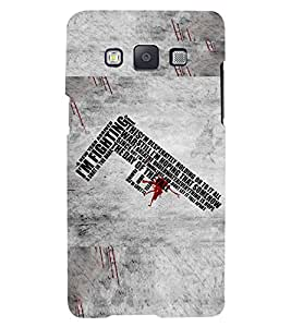 PRINTSWAG TYPOGRAPHY Designer Back Cover Case for SAMSUNG GALAXY A5