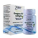 Gélules d'huile d'Origan Zane Hellas. Concentré 7: 1 Fournit 64 mg de Carvacrol par...