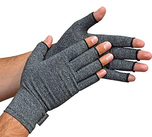Medipaq® Anti-Arthritis Handschuhe (Paar) - Bieten Wärme Und Üben Druck Aus Um Die Blutzirkulation Zu Erhöhen, Schmerz Zu Reduzieren Und Die Heilung Zu Fördern (1x Paar) (Anti-handschuh)