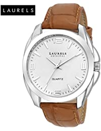 Laurels Diplomat Analog White Dial Men's Watch - Lo-Dip-201