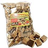 200 Stück XXL - Anzündwürfel ökologische Kamin & Grill Anzünder - CO2 neutral & umweltfreundlich
