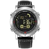 WSJ Smarte Elektronische Uhr, Wunderschön + Mode + Metal + Multi-Funktion + Wasserdichte Herren-Uhr, Mobiles Bluetooth-Verbindungs Telefon, Outdoor-Sportuhr