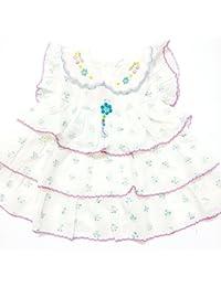 BABY GIRL DRESS WITH CHIKENKARI