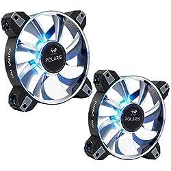 In Win Polaris RGB metallo (Twin Pack) ventilatore per PC