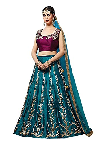 Ultrasav Women Party Wear New Year Collection Special Sale Offer Bollywood Firozi...