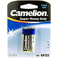 Camelion 9 V 6F22 10200122 pile Super Heavy Duty