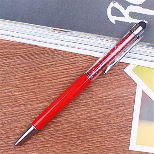 Packung mit 10 Crystal Diamond Pen Kugelschreiber Büro Schule Schreibwaren 14,5 x 1,0 cm (1,0) Mini Glue Pen
