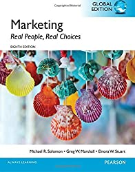 Marketing: Real People, Real Choices, Global Edition by Michael R Solomon (2015-06-18)