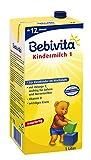 Bebivita Kindermilch, 1 l trinkfertig, ab dem 12 Monat, 6er Pack (6 x 1 l)