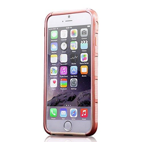 Coque de protection pour iPhone 6S, noir, iPhone 6S/iPhone 6 rose gold