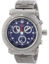 Formex 4 Speed DS2000 - Reloj para caballero de acero inoxidable azul