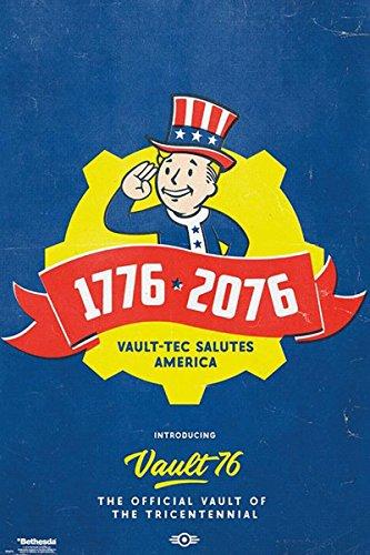Close Up Poster Fallout 76 - Tricentennial [1776-2017] (61cm x 91,5cm)