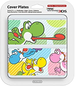 New Nintendo 3DS: 028 Cover Plate Yoshi