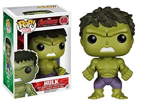 Image of Funko POP Movie: Marvel Avengers 2 Hulk Bobble Head Vinyl Figure
