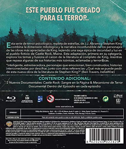 Castle Rock Temporada 1 Blu-Ray [Blu-ray]
