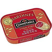 Connétable Sardines sans arête l'huile d'olive La boîte de 115g - Prix Unitaire - Livraison Gratuit Sous 3 Jours