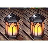 Wonderland Set Of 2: LED Lantern / Lamp For Home Decor, Home Decorative Light, Gift, Gifting, Needs Battery, No Electricity