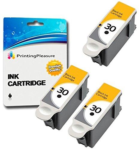 3 XL Compatibles Kodak 30XL Cartuchos Tinta Kodak