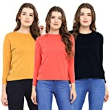 Best Simple Cotton Rounds - CHKOKKO Full Sleeve Cotton Casual Round Neck Tshirts Review