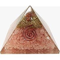 Rosenquarz Energetische Pyramide für Heilung Kristalle Reiki Home Decor/Office Decor/POSITIVE Energie preisvergleich bei billige-tabletten.eu