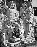 Statues of Poseidon and Demeter Izmir Turkey Poster Drucken