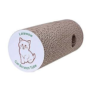 Lalawow® Giocattoli Gatto Cat Scratch Tube Con REGALO Gatto Teaser