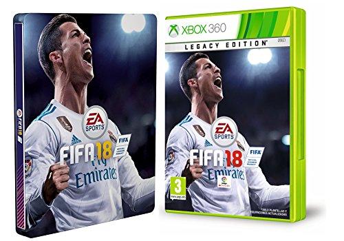 FIFA 18 - Edición legacy + Steelbook (Exclusivo en Amazon)