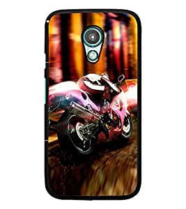 PrintDhaba Bike D-2976 Back Case Cover for MEIZU M1 NOTE (Multi-Coloured)