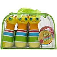 Melissa & Doug Sunny Patch Giddy Buggy Bowling Action Game - 6 Bug Pins, 1 Plastic Ball