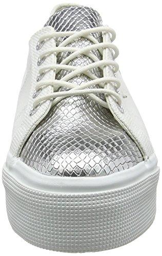 Superga 2790 Cotleasnakew, Sneakers basses mixte adulte White (white Silver)