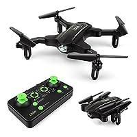 LBLA Foldable Mini Drone RC Quadcopter for Kids & Beginner 2.4G 360 Degree Flip 6-Axis Gyro Headless Mode One Key Return