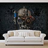 Alchemy Gothic Art Necronaut Totenkopf - Wallsticker Warehouse - Fototapete - Tapete - Fotomural - Mural Wandbild - (2689WM) - L - 152.5cm x 104cm - VLIES (EasyInstall) - 1 Piece
