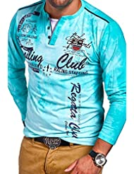 MT Styles 2in1 T-shirt à manches longues P-SACLUB homme R-0859