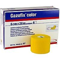 Gazofix color Fixierbinde gelb latexfrei 20m x 8cm 6 Rollen preisvergleich bei billige-tabletten.eu